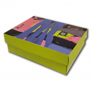 Самосборная коробка для набора носков
