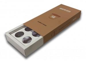 Упаковка під капсули з кавою для кавомашин
