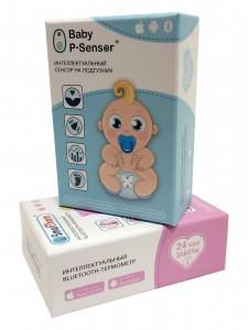 Упаковка для інтелектуальних сенсорних датчиків (датчик на підгузок та блютус-термометр)