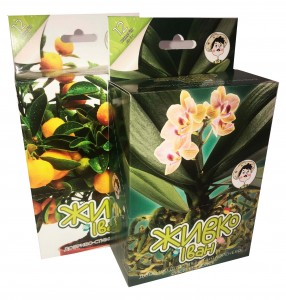 Упаковка для добрива (для зміцнення кореневої системи рослин)