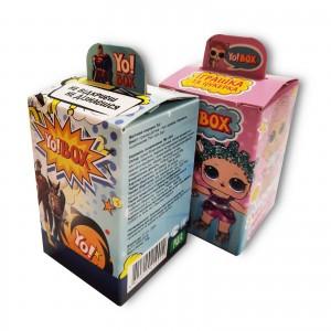 Упаковка для детского сюрприза (игрушка, конфета)
