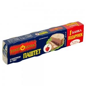 Упаковка-обмотка (обечайка) для чотирьох консервних банок