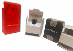 Упаковка для парфюмерных изделий с ложементом